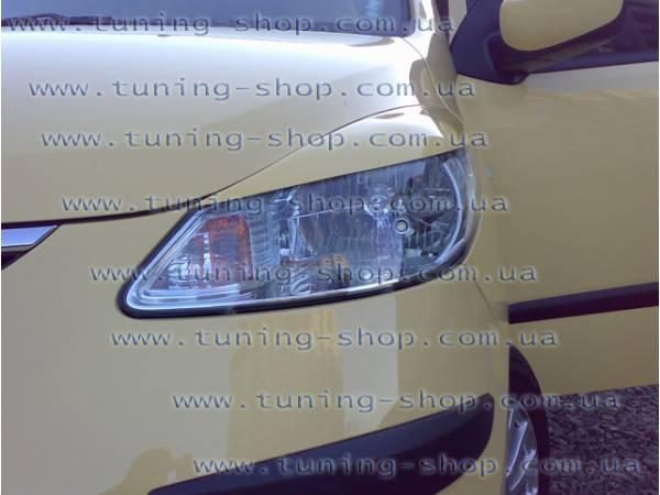 Ресницы на фары - тюнинг обвес Hyundai i-10