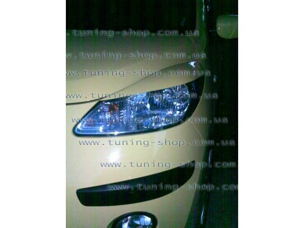 Ресницы на фары - тюнинг обвес Hyundai i-10_2