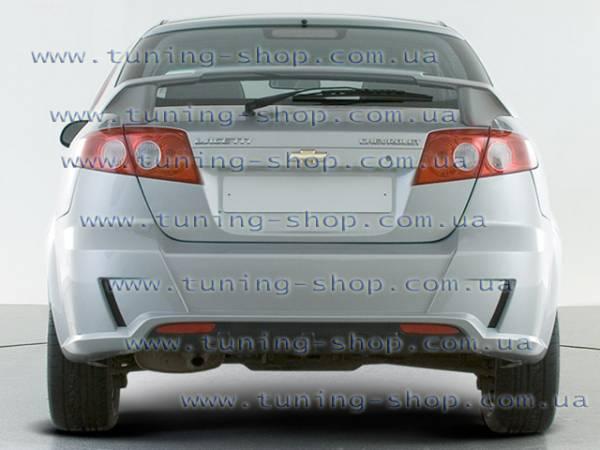 Спойлер на заднюю дверь - тюнинг обвес Chevrolet Lacetty Hatchback_2