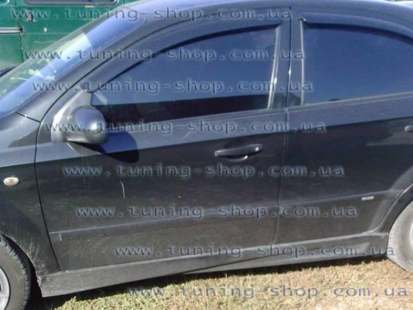 Пороги Mod-2 тюнинг обвес Chevrolet Aveo