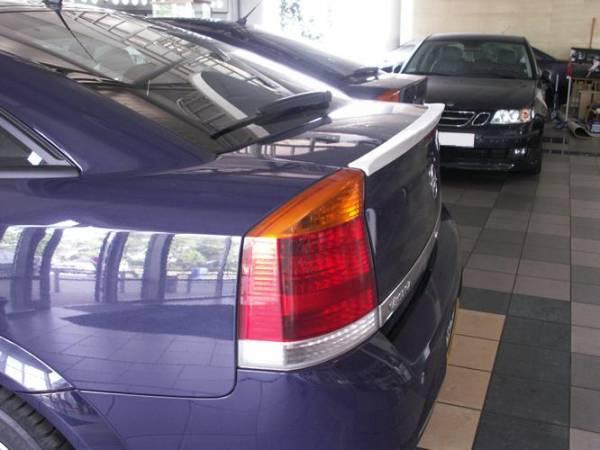 Лип спойлер Opel Vectra C