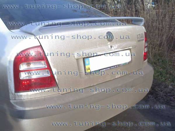 Спойлер RS Skoda Octavia