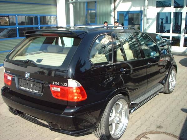Спойлер BMW X5 Е53