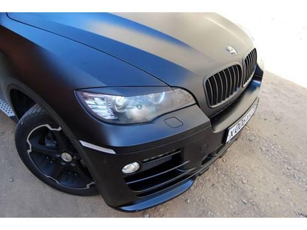Реснички на фары BMW X6
