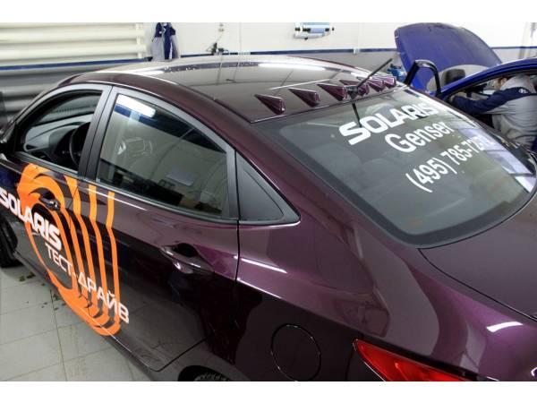 Тюнинг Hyundai Accent 2011