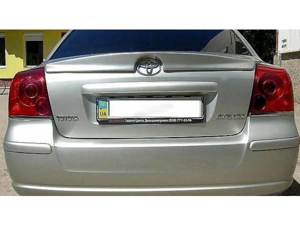Спойлер Тойота Авенсис 2003 - 2008
