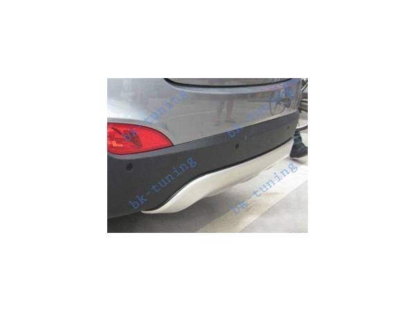 Накладка на задний бампер Hyundai IX-35