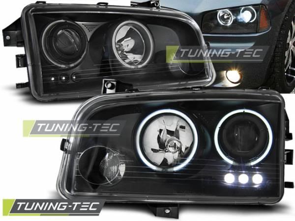 Тюнинговые передние фары Dodge Charger LX