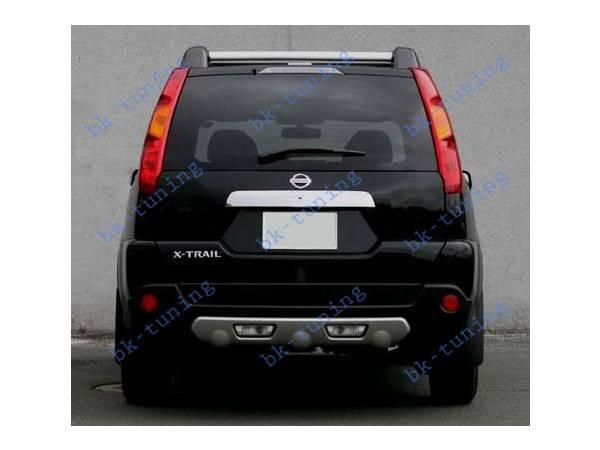 Накладка заднего бампера Nissan X-Trail