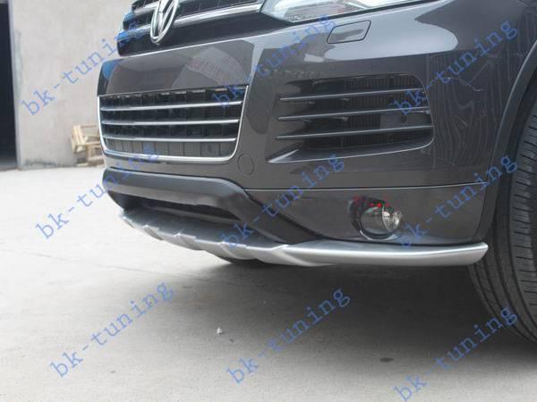 Накладки на бампер VW Touareg NF (HM-TR-B11-B12)