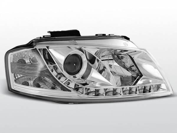 Альтернативная передняя оптика Audi A3