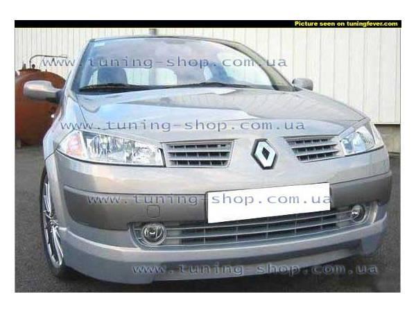 Ресницы на фары - тюнинг обвес к Renault Megan II