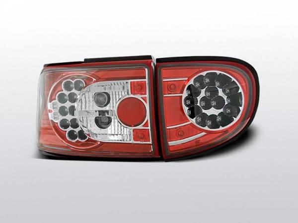 Фонари светодиодные Форд Эскорт МК6/МК7 (красные)
