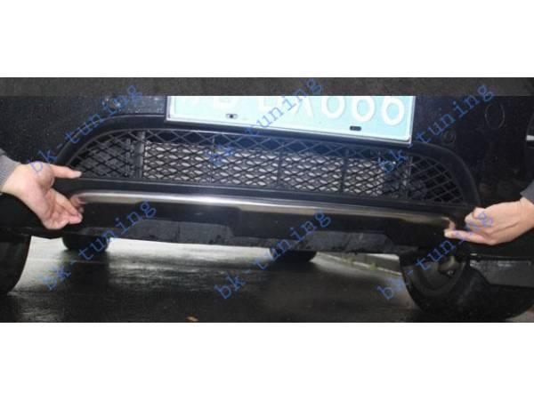 Накладка на передний бампер BMW X6