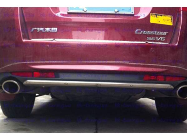 Накладки на задний бампер Хонда Кросстур