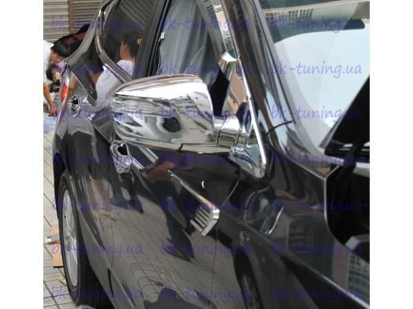 Хром на зеркала Hyundai IX-35