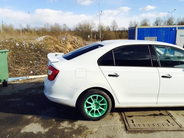 Спойлер Skoda Rapid RS