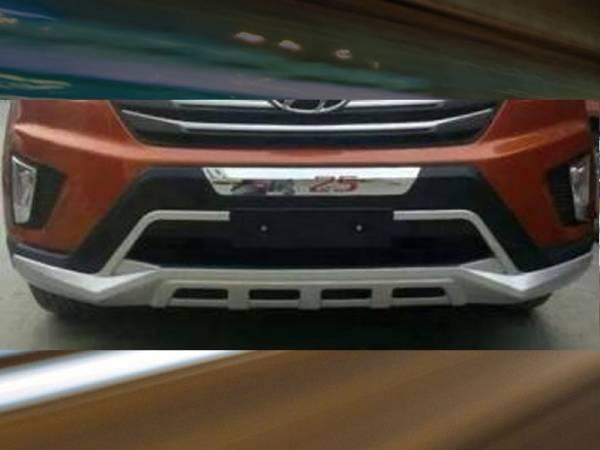 Накладка на передний бампер Hyundai IX25 2015