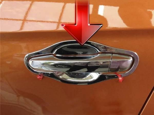 Хром под дверные ручки Hyundai IX25 (HX-D43)