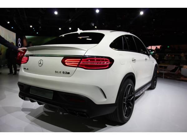 Спойлер Mercedes GLE Coupe (ABS)