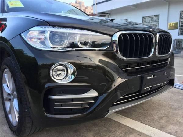 Хром на нижний гриль в бампере BMW X6 F16 (X6-C53)