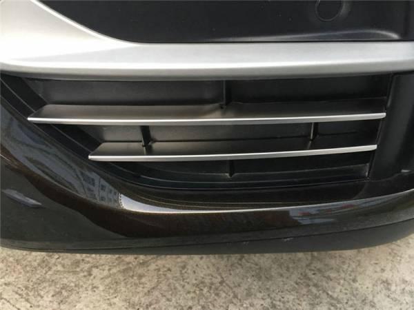Хром на нижний гриль в бампере BMW X6 F16