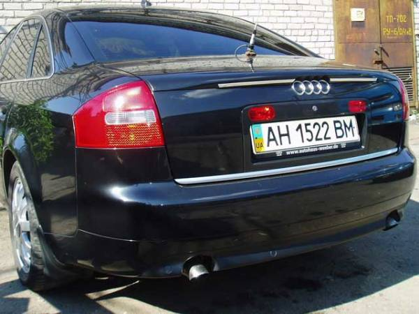 Спойлер Audi A6