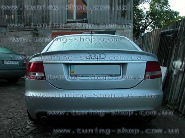 Спойлер тюнинг обвес Audi A6